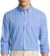 Dockers Signature Long-Sleeve Check Printed Woven Shirt