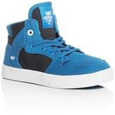 Supra Boys' Vaider Color Block High Top Sneakers
