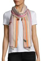Janavi True Bugs Wool & Silk Scarf