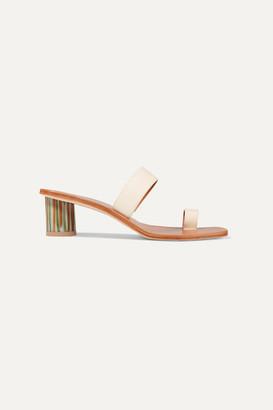 LOQ Tere Leather Sandals - Cream
