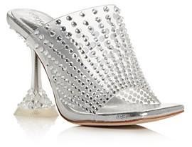 Jeffrey Campbell Women's Embellished High-Heel Mules