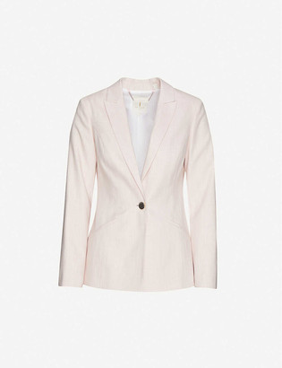Ted Baker Peliat tailored-fit single-breasted woven blazer