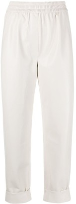 Nanushka Pull-On Turn-Up Trousers