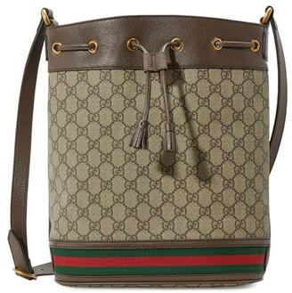 Gucci GG supreme bucket bag