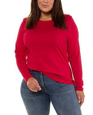 Ulla Popken Women's Softshell-Jacke Long Sleeve Top,(Size: 62+)