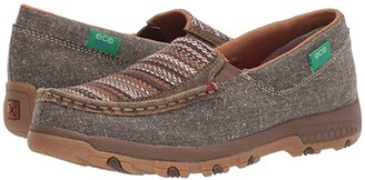 Twisted X WXC0006 Slip-On Driving Moc with CellStretch(r) (Bomber/Multi) Women's Shoes