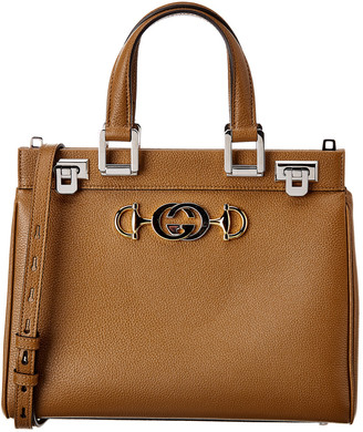 Gucci Zumi Small Leather Top Handle Shoulder Bag