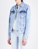 Calvin Klein Oversized denim trucker jacket