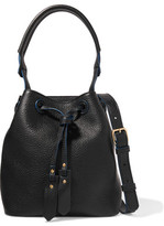 Sandro Textured-Leather Shoulder Bag