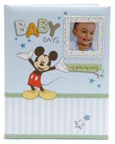 Gibson CR Disney Mickey Mouse Baby Boy Keepsake Record Memory Book