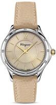 Salvatore Ferragamo Time Watch with Diamonds, 33mm