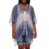 Arizona 3/4 Sleeve Pattern Kimono Juniors Plus