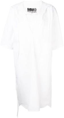MM6 MAISON MARGIELA Hooded Shirt Dress