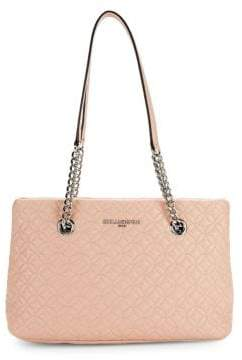 Karl Lagerfeld Paris Geometric Leather Tote