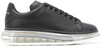 Alexander McQueen Oversized clear sole sneakers