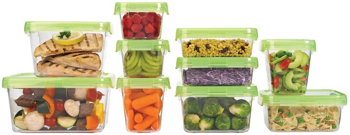 OXO Good Grips LockTop Container Set 20pc, Tritan Green