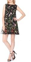 Tahari Petite Women's Embroidered Shift Dress