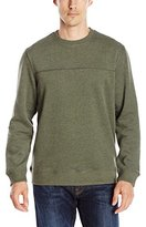 Arrow Men's Long Sleeve Sueded Fleece Crew