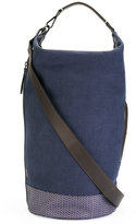 Zanellato Zaino tote - men - Calf Leather/Canvas - One Size