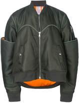 Helmut Lang oversized bomber jacket
