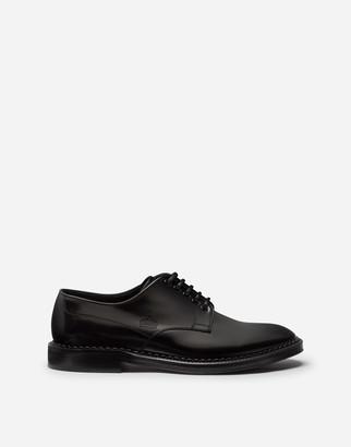 Dolce & Gabbana Calfskin Derby Shoes