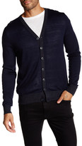 Toscano Long Sleeve Button Cardigan