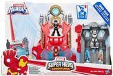 Hasbro Playskool Heroes Marvel Super Hero Adventures Iron Man Armor-Up Fortress by