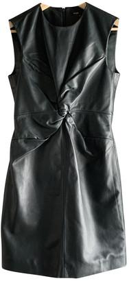 Maje Fall Winter 2019 Green Leather Dresses