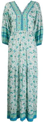 Poupette St Barth Floral Maxi Dress