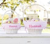 Pottery Barn Kids Pink Gingham Easter Basket Liners