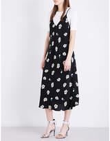 Mo&Co. Floral slip dress
