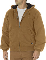 Dickies Sanded Duck Insulated Hooded Jacket - Big & Tall