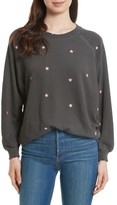 The Great Women's The Embroidered Bubble Sweatshirt