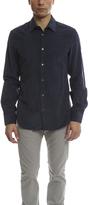 Acne Studios Mario Cord Shirt Dark Blue