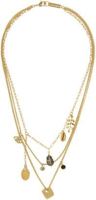 Isabel Marant Gold Vedette Necklace