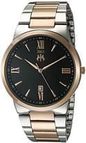 Jivago Men's JV3515 Clarity Analog Display Quartz Two Tone Watch