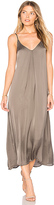 Enza Costa Strappy Slip Dress in Sage. - size 0 / XS (also in 1 / S)