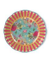 Mackenzie Childs MacKenzie-Childs Florabundance Melamine Dinner Plates, Set of 4