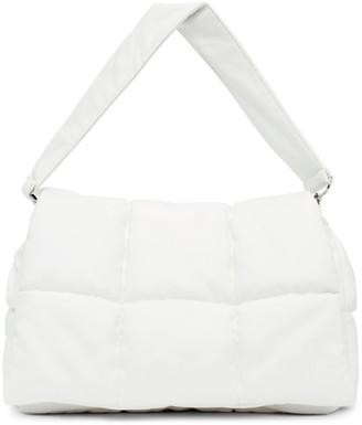 Stand Studio White Wanda Clutch Bag