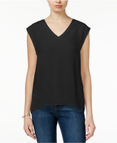 Bar III Illusion Cap-Sleeve Top, Only at Macy's
