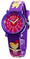 Baby Watch 3700230606153 Montre ZAP Trapéziste - Wristwatch Girl's, Plastic, Band Colour: Multicolour