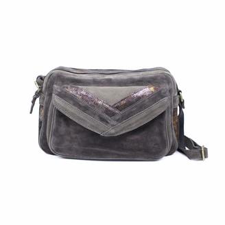 Mila Louise Womens 3328CVMMessenger Bag Grey Grey (PEPPER 55)