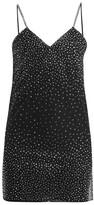 Ashish Crystal-embellished Tulle Mini Dress - Womens - Black