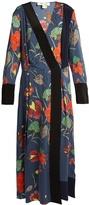 Diane von Furstenberg Ampère-print stretch-silk dress