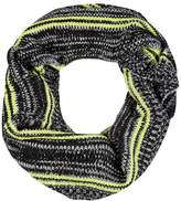 Select Fashion Fashion Womens Yellow Double Stripe Snood - size One