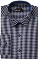 Bar III Men's Slim-Fit Wear Me Out Gingham Dot Dress Shirt, Only at Macy's