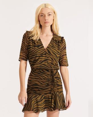 Veronica Beard Dakota Zebra Dress