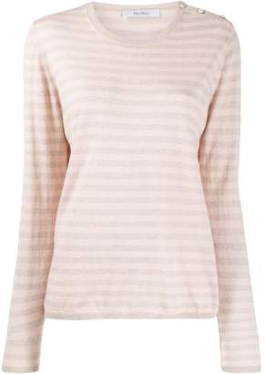 Max Mara striped knit jumper