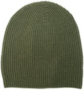 P.A.R.O.S.H. ribbed beanie hat - women - Cashmere/Wool - S