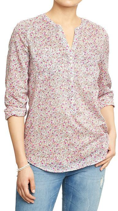 Old Navy Women's Floral-Printed Blouses